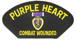 Purple Heart Patches